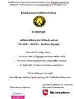 Einladung Auftaktworkshop