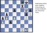 Schachpartie 1