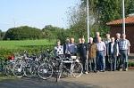SV Oldies-Fahrradtruppe
